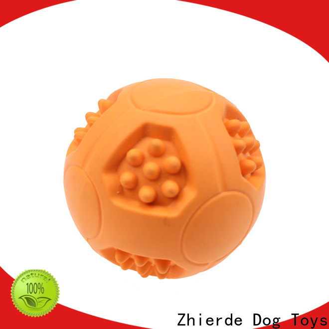 Zhierde new dog food dispensing toy with good price for exercise