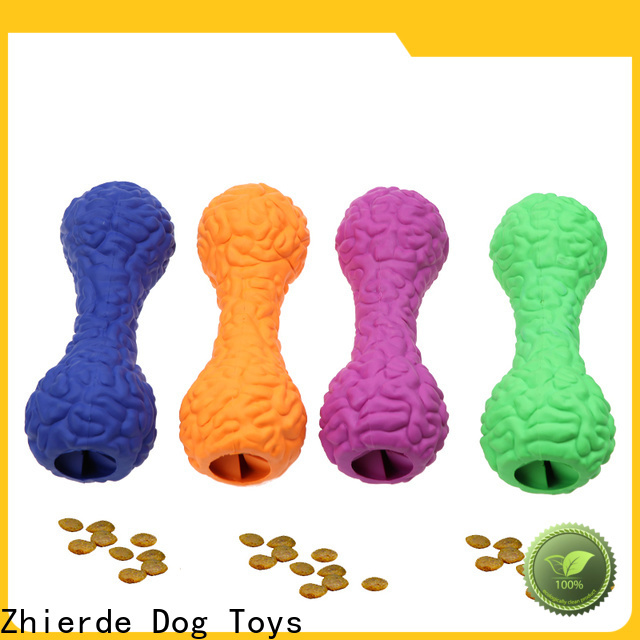 Zhierde funny dog food dispensing toy supplier for chewing