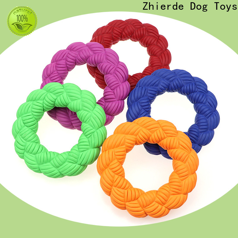 Zhierde funny squeaker dog toy factory for teething