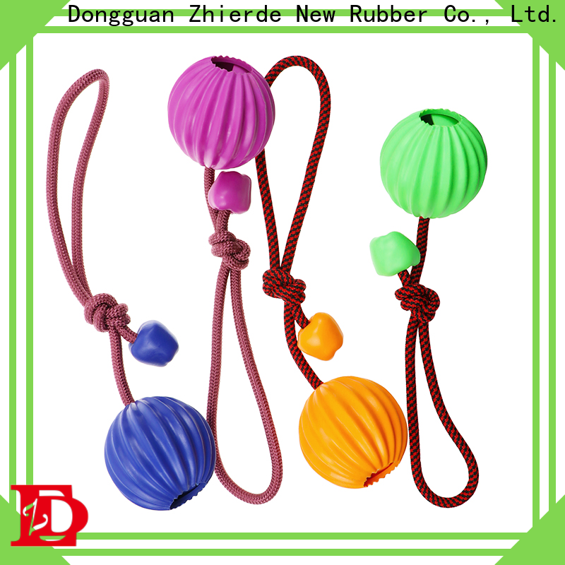 Zhierde rope chew toys for dogs with good price for teething