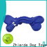 interesting rubber dog bone wholesale for playing