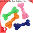 Zhierde durable rubber dog bone with good price for exercise