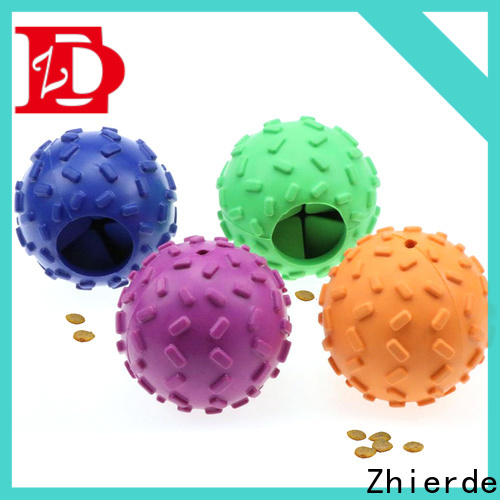 Zhierde dog food dispensing toy wholesale for playing
