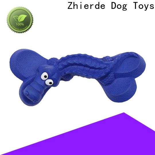 Zhierde rubber dog bone manufacturer for training