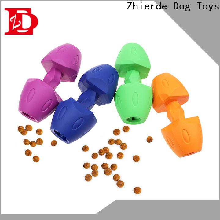 Zhierde dog food dispensing toy manufacturer for teething
