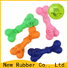 safe rubber dog bone supplier for pet