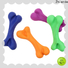 Zhierde rubber bone dog toy supplier for playing