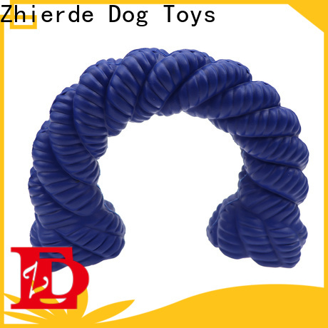 Zhierde rubber squeaky dog toys supply for exercise