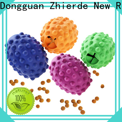 Zhierde treat dispensing dog toys factory direct supply for teething