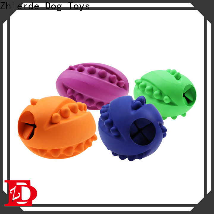 Zhierde food dispenser toy for dogs with good price for teething