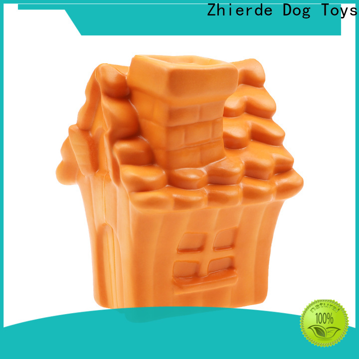 Zhierde dog food dispenser toy with good price for teething