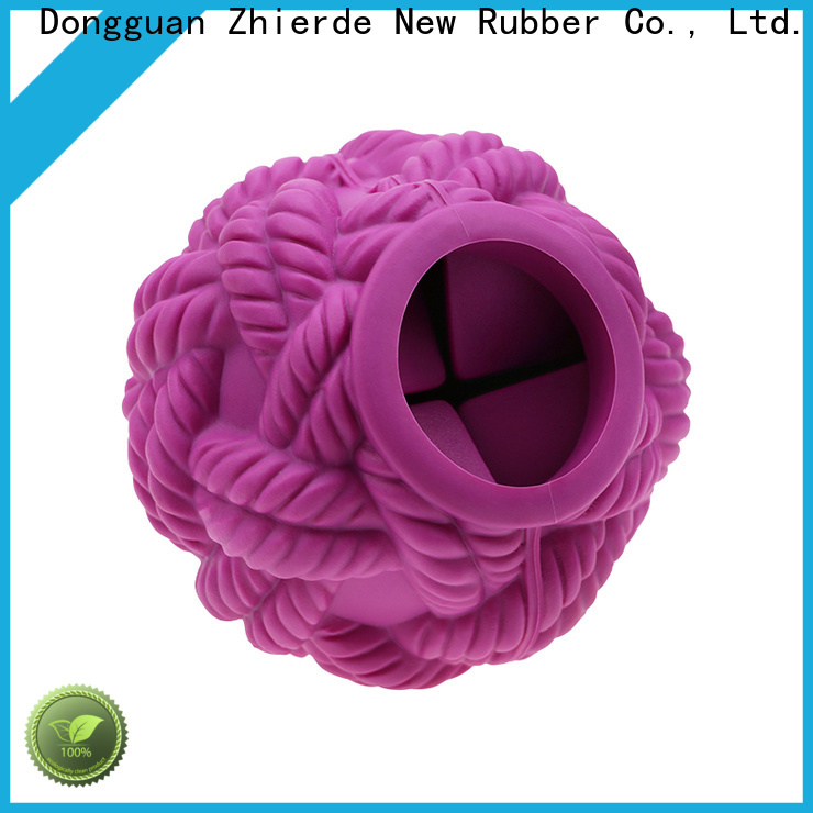 Zhierde durable treat dispensing toys manufacturer for training