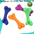 interesting rubber bone dog toy manufacturer for teething