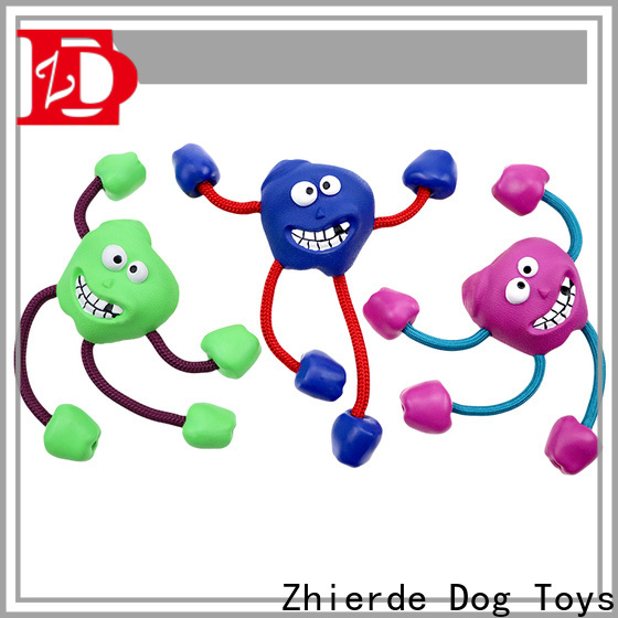 Zhierde rope chew toys for dogs wholesale for exercise