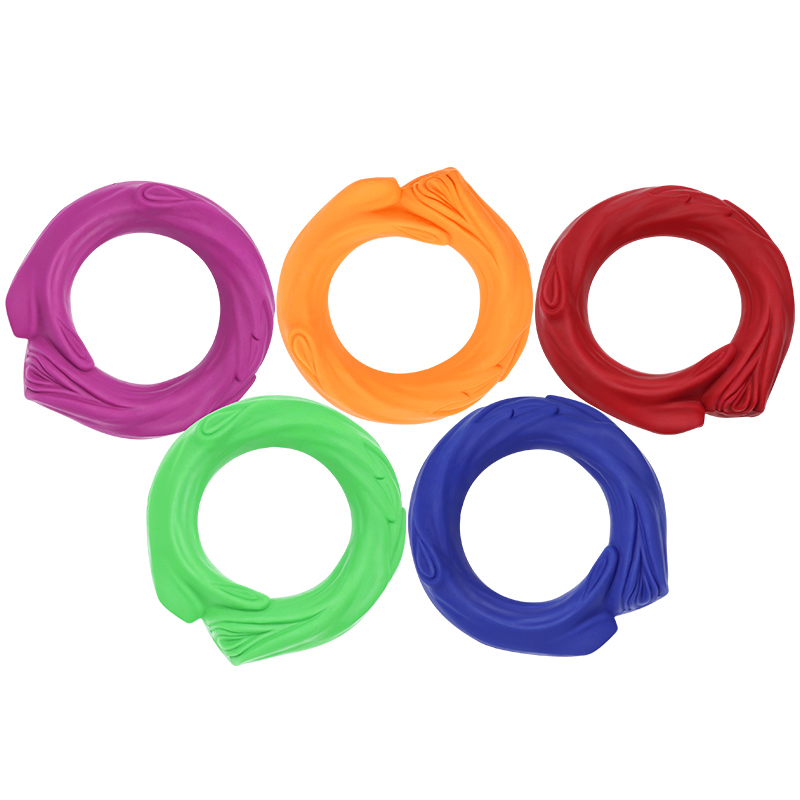 Powerful Rubber Dog Squeaky Toy for Dog Training Exercise