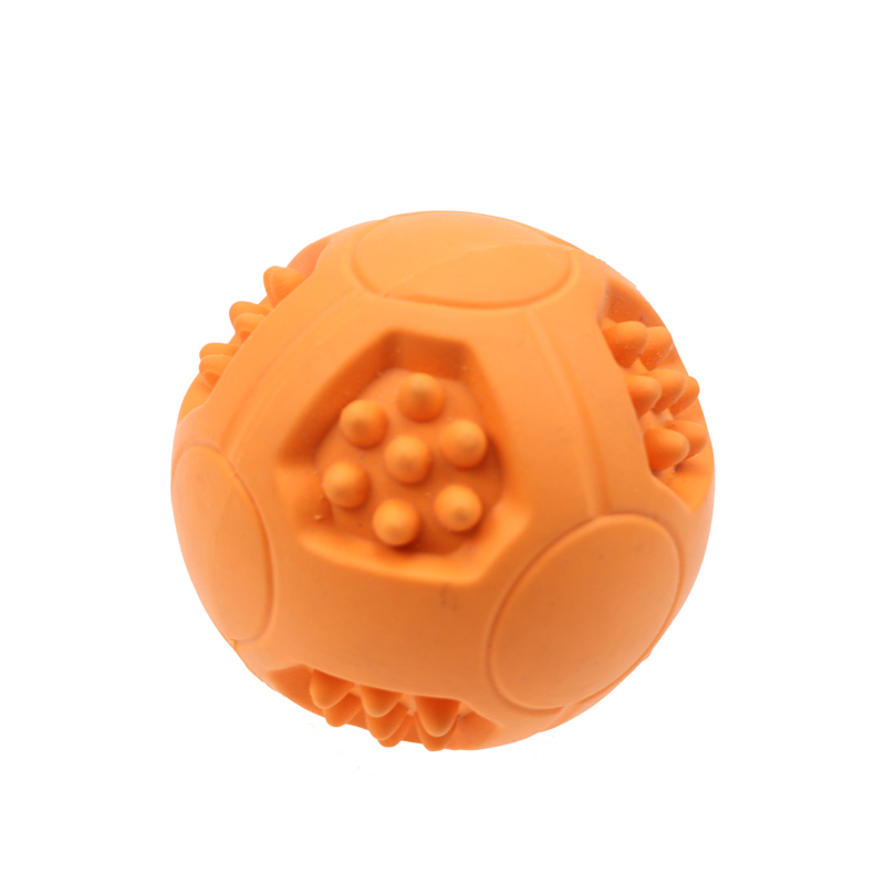 Treat Dispensing Toy Rubber Dog Ball Chew Dog Toys Molars Chewing Pet Toys