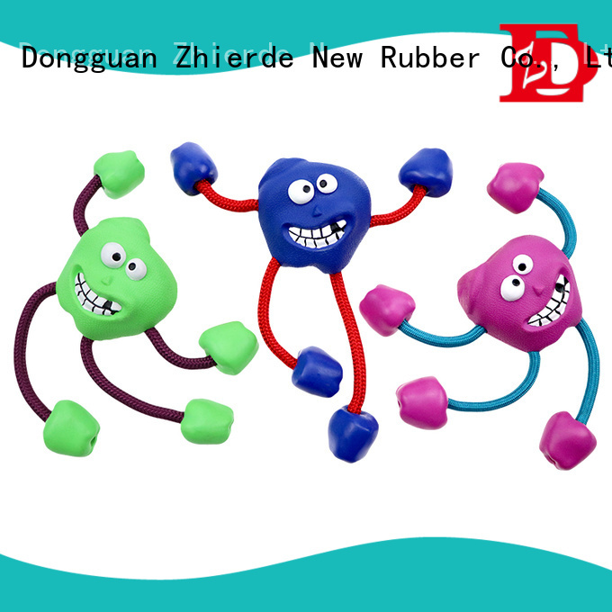 Zhierde dog rope toys wholesale for teething