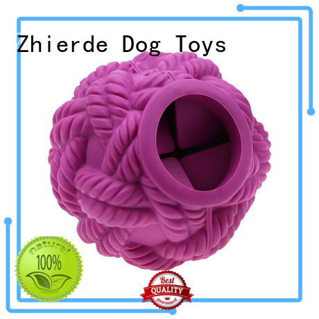 Zhierde food dispenser toy for dogs manufacturer for training