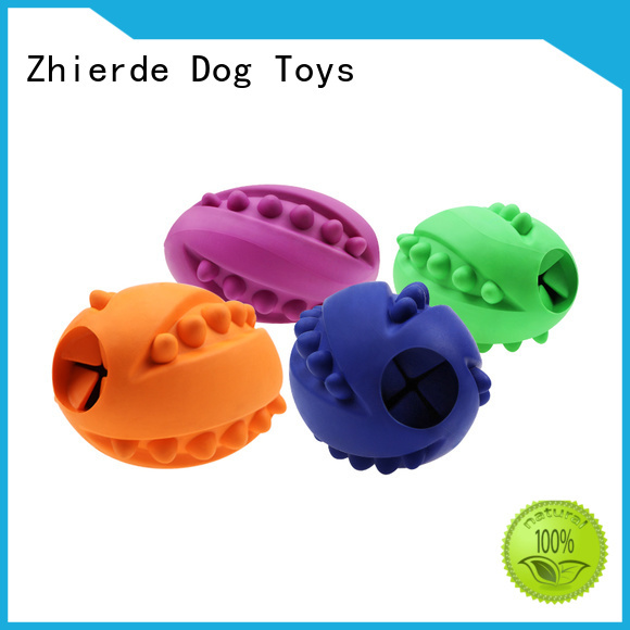 Zhierde dog food dispensing toy manufacturer for training