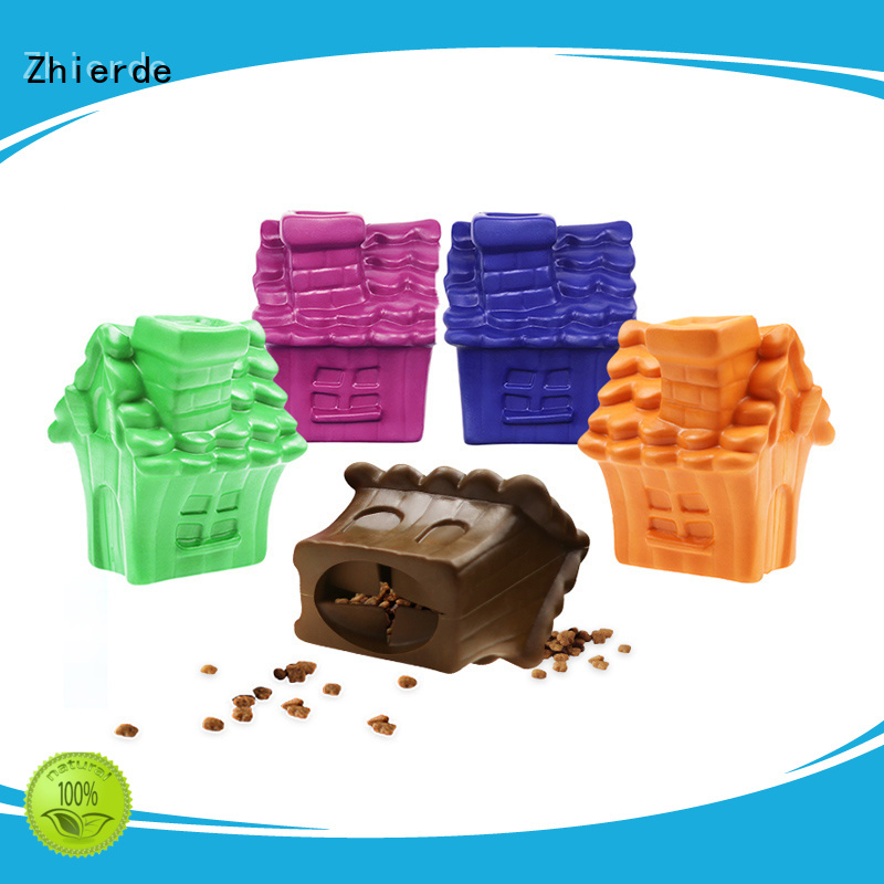 Zhierde safe treat dispensing dog toys manufacturer for teething