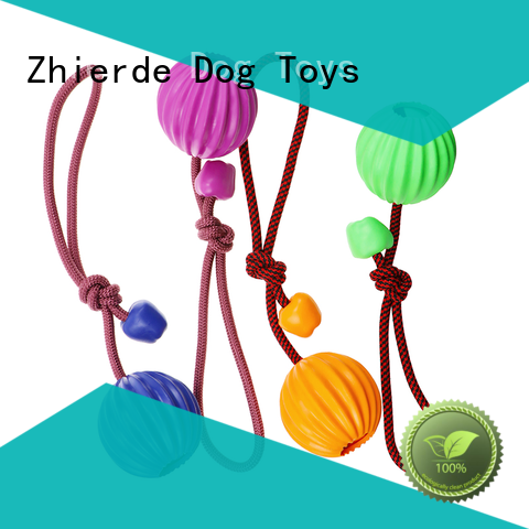 Zhierde dog rope chew toy manufacturer for playing