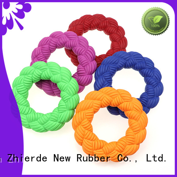 Zhierde squeaky dog toys factory for chewing