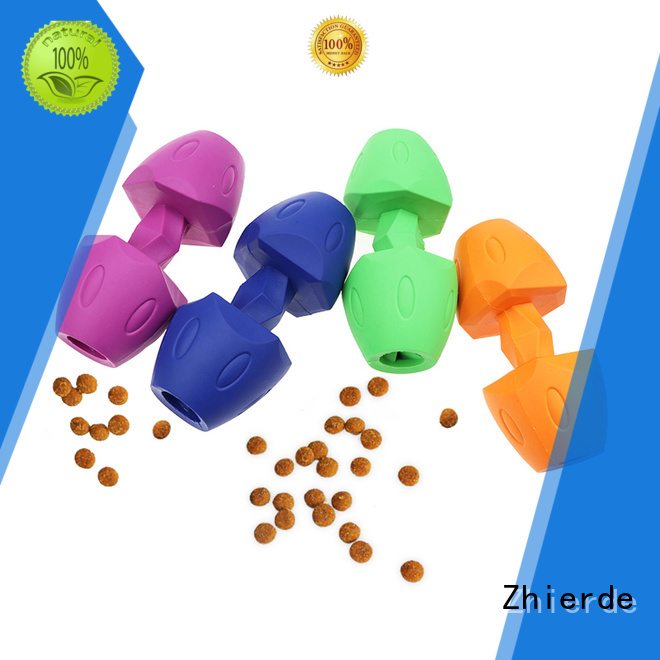 Zhierde latest dog food dispensing toy factory direct supply for exercise