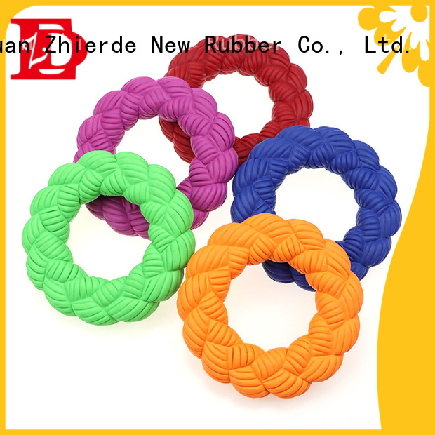 Zhierde lovable squeaky dog toys factory for chewing
