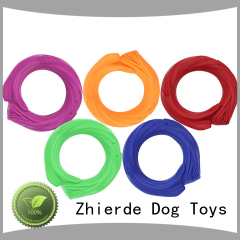 Zhierde rubber squeaky dog toys manufacturers for playing