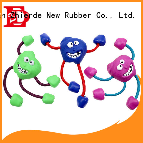 Zhierde dog rope chew toy manufacturer for chewing
