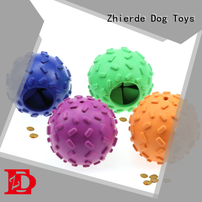 Zhierde durable dog food toys supplier for teething