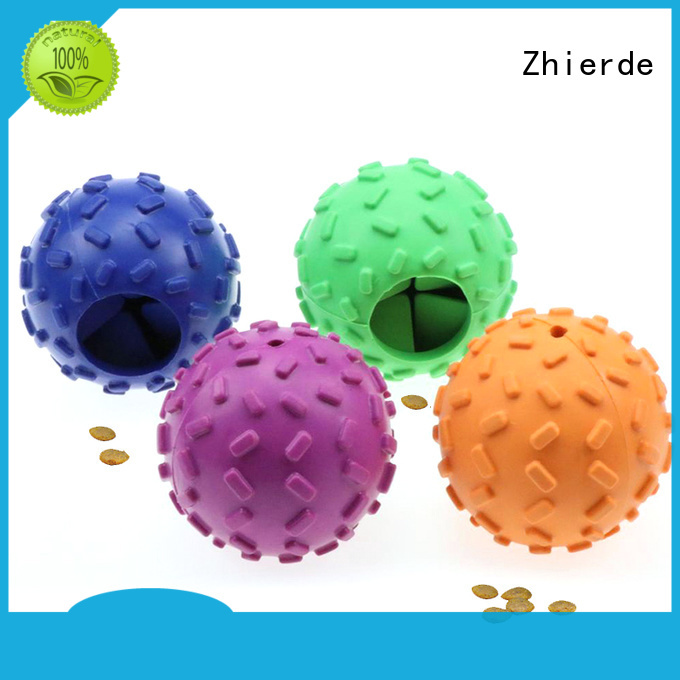 Zhierde treat dispensing toys with good price for pet