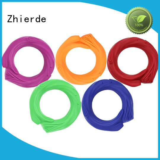 Zhierde rubber squeaky dog toys suppliers for chewing