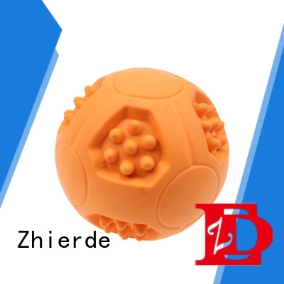 Zhierde high-quality treat dispensing dog toys supplier for teething