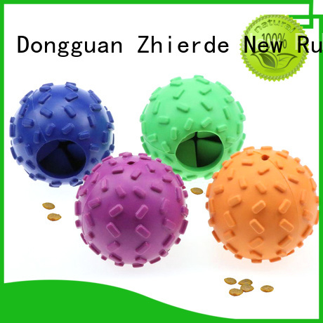 new treat dispensing dog toys supplier for teething