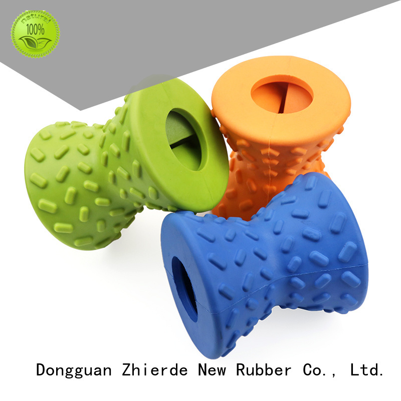 Zhierde top treat dispensing dog toys supplier for chewing