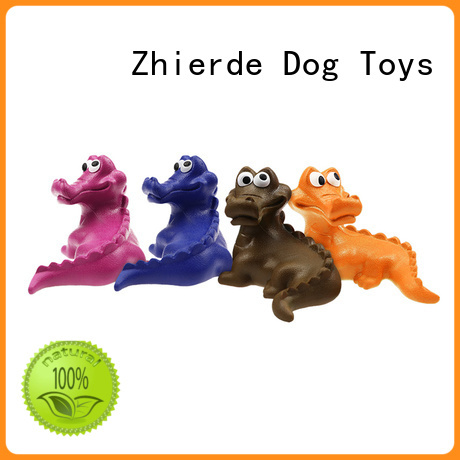 Zhierde indestructible rubber dog toys suppliers for exercise