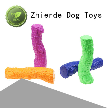Zhierde long lasting indestructible dog toy factory for teething
