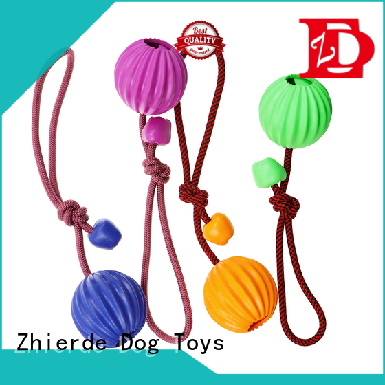 Zhierde safe dog rope chew toy wholesale for teething